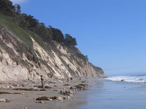Santa Barbara cliffs